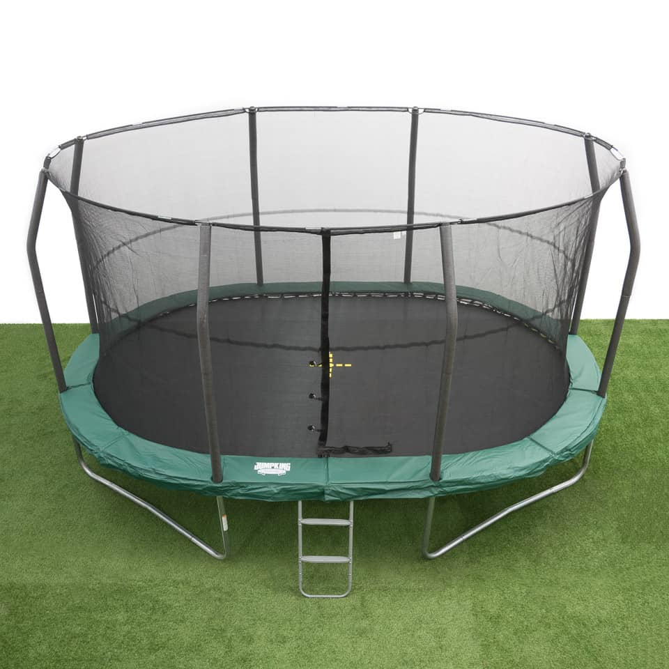 Orbounder 14 Trampoline And Enclosure Combo: Soikea Trampoliini 4,6 X 3,1 M