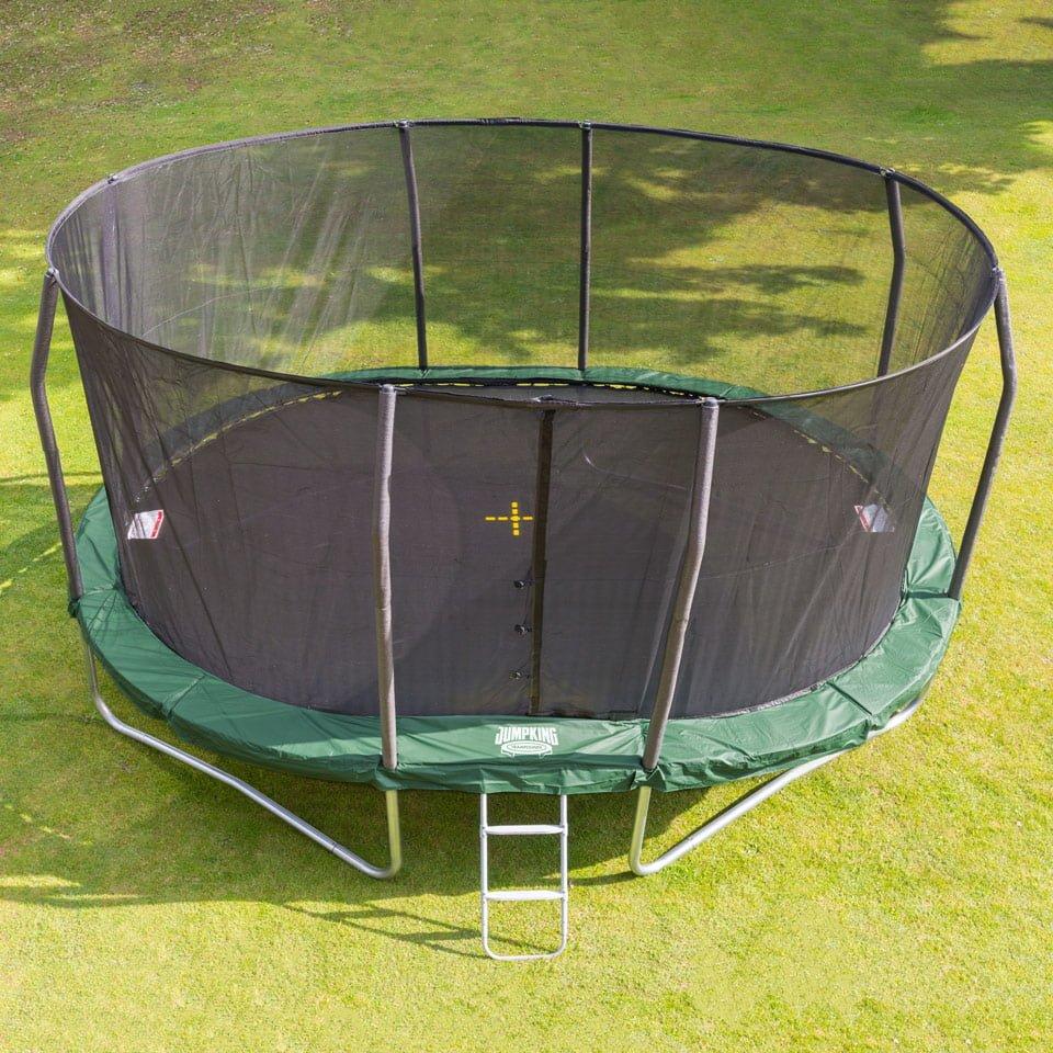 Stor Oval Studsmatta Ovalpod 17 5 2 M Jumpking
