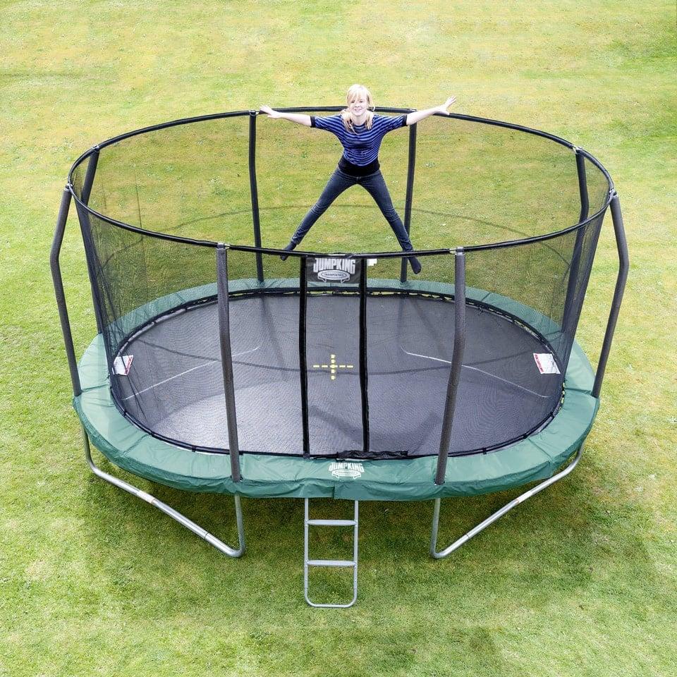 Oval Studsmatta Ovalpod 13 4 M Jumpking Studsmattor