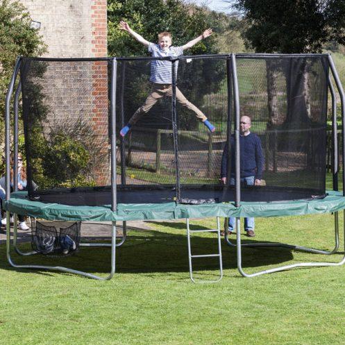 Oval Studsmatta Ovalpod 15 4 6 M Jumpking Studsmattor
