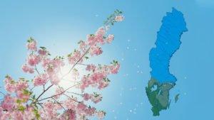 Våren är på 1/3-väg 2