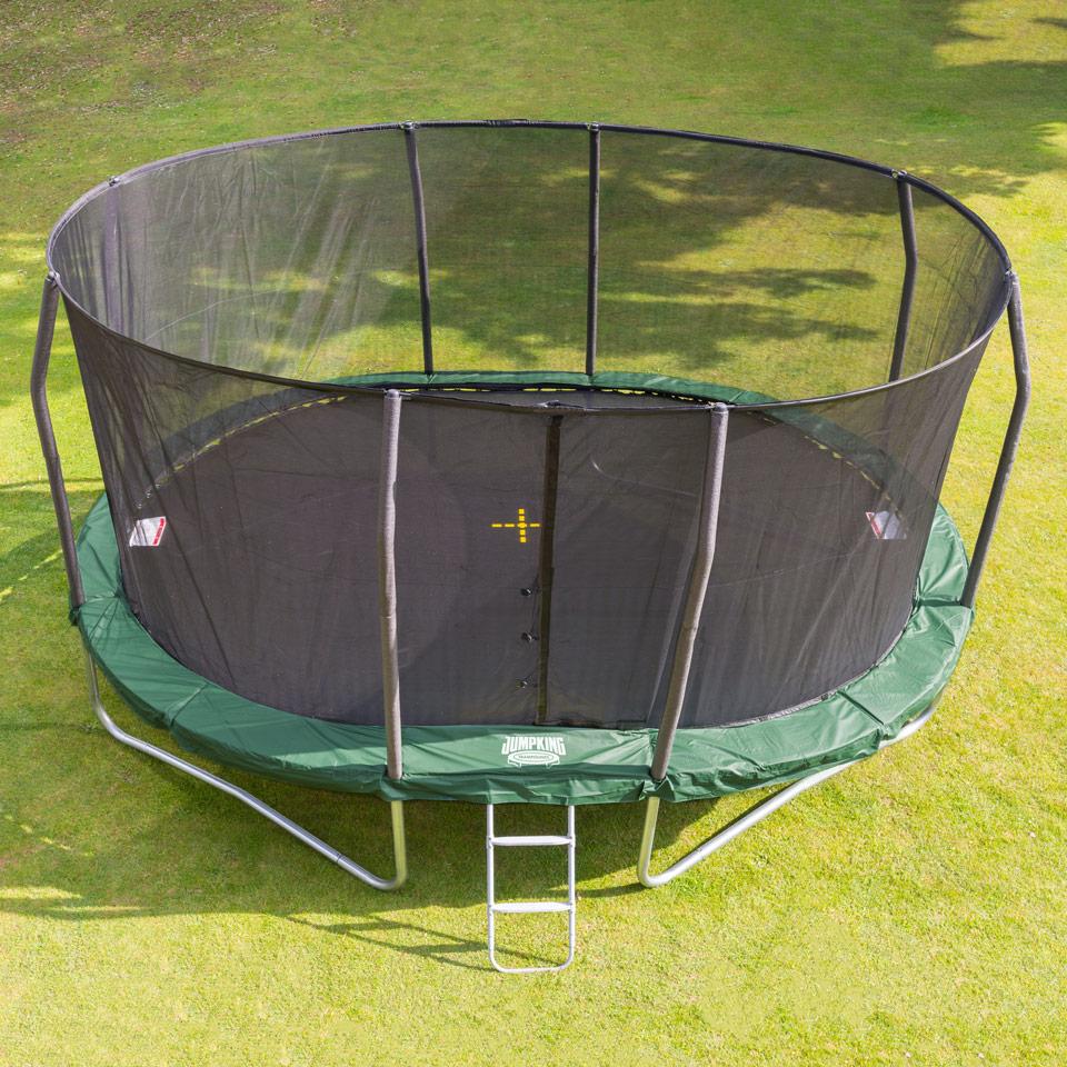 Trampoline Net For 17ft X 15ft Oval: Oval Trampolin - OvalPod 17 (5.2 M)