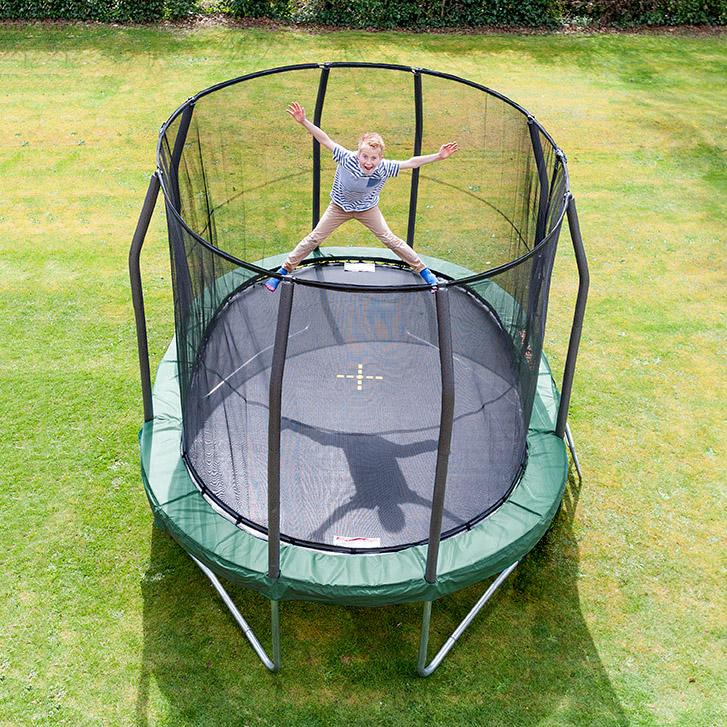 Trampoline Net For 17ft X 15ft Oval: Oval Trampolin - OvalPod 15 (4.6 M)