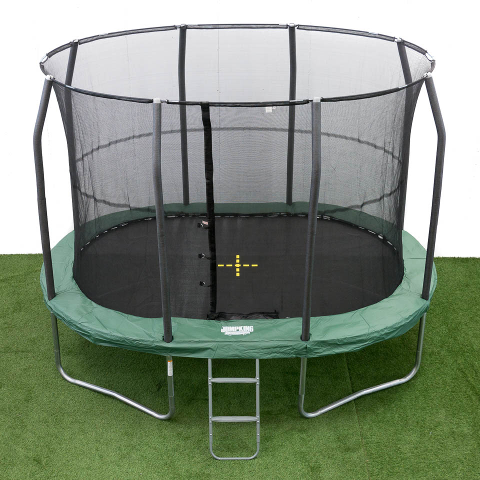 oval trampolin ovalpod 11 3 5 m jumpking trampoliner. Black Bedroom Furniture Sets. Home Design Ideas